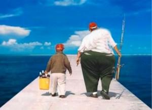obesi sul molo