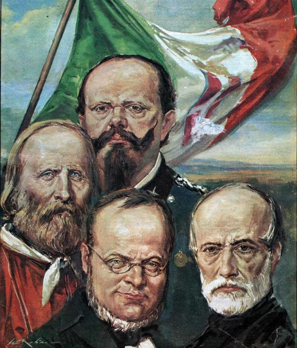 mazzini cavour garibaldi Absence of the pope, garibaldi and mazzini created a republic  in cavour's  view, unification needed a strong state to lead, namely piedmont.